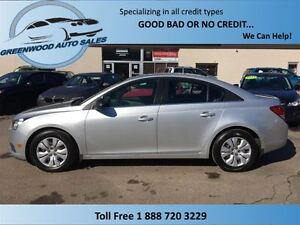 2012 Chevrolet Cruze Curze........Very easy on fuel..Finance Now