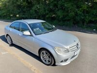 Mercedes-Benz C220 SPORT Cdi DIESEL, AUTOMATIC, Part LEATHER Trim, FULL SERVICE HISTORY {12 stamps}