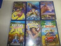 Classic Disney Films on Video for the Children (and adults) 12 video's