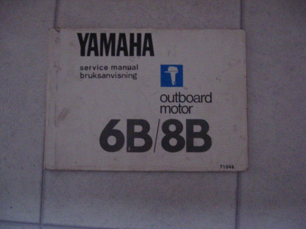 Yamaha Outboard Service Manual 6 and 8hp | in Bishopton, Renfrewshire |  Gumtree
