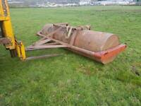 10ft tractor field paddock land roller can be water filled
