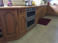 Kitchen worktop, units and appliances