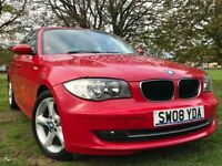 2008 BMW 116 i ES PETROL 5 DOOR **FRONT & REAR PARKING SENSORS*START/STOP*BRAND NEW MOT(NO ADVISORY)
