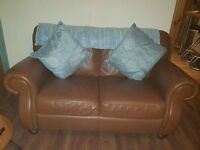 Perfect Condition 2+2 seater leather Sofas For Sale.
