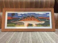 Pair of Sophie Harding framed signed prints