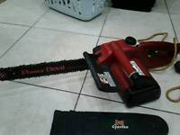"Power Devil 16"" electric chainsaw"