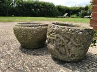Pair of Solid Garden Pots
