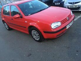 Volkswagen Golf 2001 diesel cheap £625ono