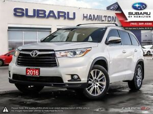 2016 Toyota Highlander XLE ONE OWNER | NO ACCIDENTS
