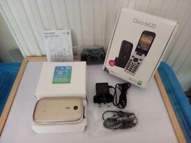 Doro 6620 Boxed & Brand New Tesco/O2 Sim £10 Credit (PLEASE READ THOROUGHLY)