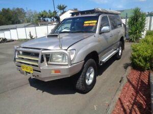 1999 Toyota Landcruiser HZJ105R GXL (4x4) Silver Gold 5 Speed Manual 4x4 Wagon Sandgate Newcastle Area Preview