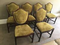 Stunning Dining Chairs x 6, Immaculate condition RRP £195 each
