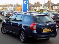 DACIA LOGAN MCV 1.5 DCi LAUREATE PRIME 5dr Estate (blue) 2015