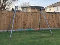 Triple Swing Steel Frame & Extension - USED