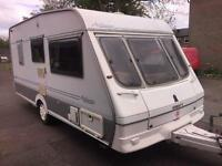 Swift archway 1999 2 berth in mint condition with awning