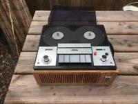Ultra reel to reel tape deck with tapes £50 ono
