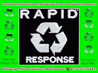 ♻️ RAPID RESPONSE DISPOSAL EDINBURGH™♻House Clearance,Rubbish Removal,Rated 5 ⭐⭐⭐⭐⭐ Man and Van Junk