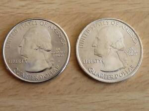 US-National-Parks-State-Quarter-Mint-New-Editions-Coin-25-cents-2010-2011