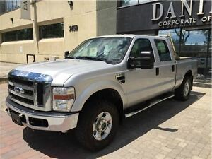 2008 Ford F-250 XLT/Super Duty/4x4/Crew Cab/Low Kms/One Owner/Mi