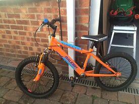 "Kids 16"" mountain bike"