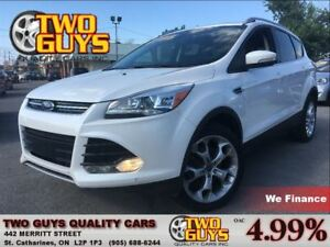 2013 Ford Escape Titanium4WD NAVIGATION LEATHER SUNROOF