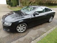 AUDI A5 COUPE S LINE 3.0 TDI QUATTRO BLACK EDITION SWAP PX WITH A4 A6 A7 A8 BMW 330D 330I 530D 730LD