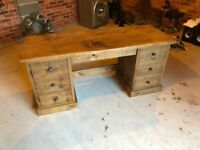 The Grand Bookkeeper's Desk, originally hand made by Indigo Furniture £749 NEW