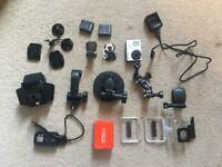 GoPro Hero 3+ Black, Memory Card and Accessories