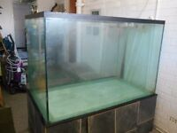All-Glass Aquarium, Large, Custom- Made, Bargain Price- Collect Only