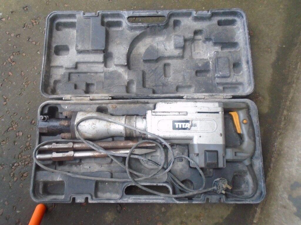 titain concrete breaker 240 volts
