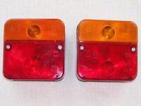 Trailer lights x 2