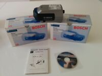 Bosch Dinion CCTV colour cameras (2) New and boxed.