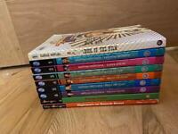 Hannah Montana books x 9