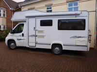 Elddis Auto Quest 140, 4 Berth, Rear U Shaped Lounge
