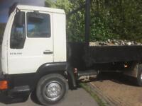 7 1/2 ton MAN tipper truck