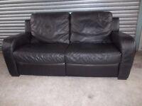 Genuine Natuzzi Italian Full Hide Leather 3-2-1 Suite (Sofa)