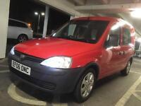 Vauxhall combo van 1.3cdti