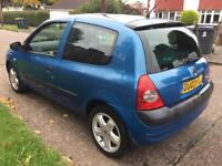 RENUALT CLIO DYNAMIQUE 16V LONG MOT STARTS AND DRIVES PERFECT EXCELLENT FOR NEW DRIVERS