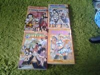 Fairy Tail Manga Books ��2.50 each