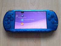 Sony PSP 3003 Slim & Lite in Vibrant Blue