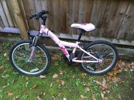 "Girls bike - 16"" wheels - in good condition"
