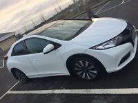 """2014 Honda Civic 1.8 iVTEC SR Heated Leather interior, 17"""" factory alloys, panoramic roof."""
