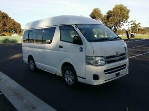 2012 Toyota Hiace Regius Mini Commuter Auto Welcab Wheelchair Van Marion Marion Area Preview