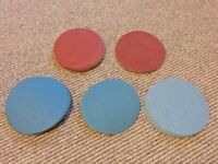 Job Lot of New & Unused 150mm Circular Sanding Discs Perfect for Floor Sanders etc..
