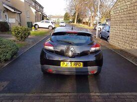 Renault Megane 1.5 dCi Diesel 3dr Black £30 tax 2009/59 HPI CLEAR