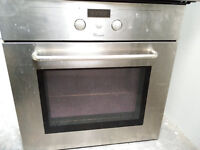 GOOD Condition WHIRLPOOL Integrated Single Cavity Electric Fan Oven