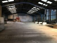 Industrial Workshop (8000 sqft) & Extensive Yard (3 acres) - To RENT : ERROL