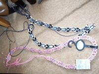 2 ladies decorative belts £5 each