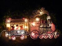 Light up xmas train.