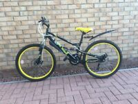 """Apollo Frenzy Junior Mountain Bike 24"""" Wheels"""